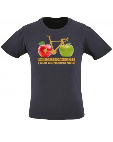 T-shirt Tour de Normandie Pommier Enfant