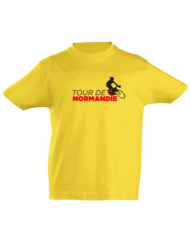 T-shirt Tour de Normandie Scotché Enfant