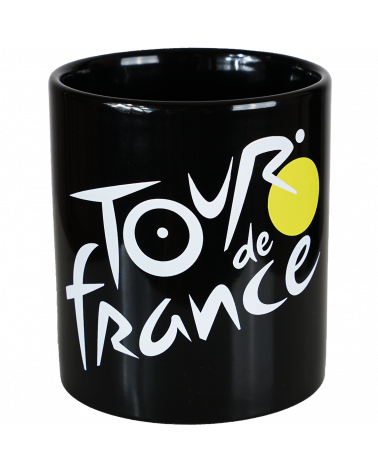 Mug Tour de France  Logo Noir