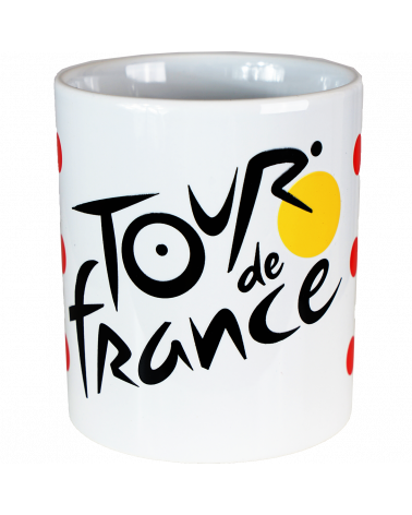 Mug Tour de France Logo Pois