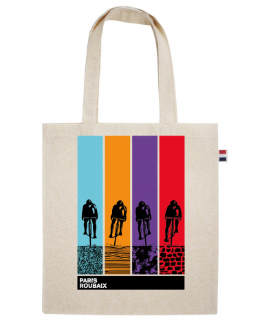 Sac Paris Roubaix Musette Multicolore