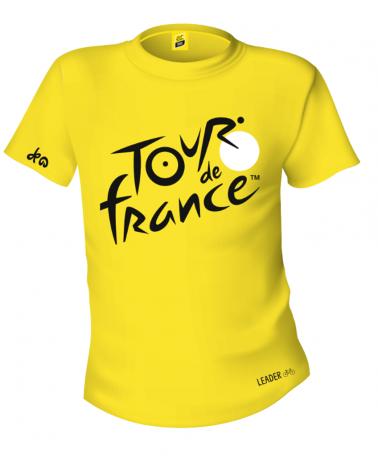 T-shirt Tour de France Logo Jaune