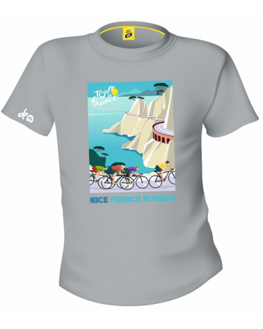 T-shirt Tour de France Nice