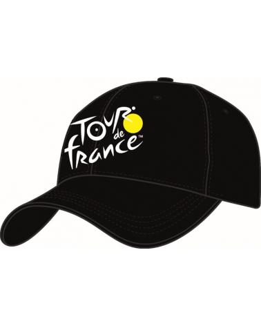 Casquette Tour de France Fan Noir