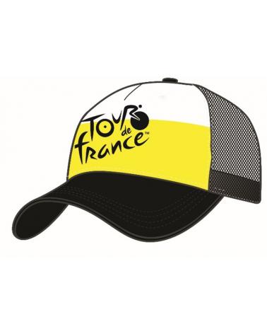 Casquette Tour de France Fan Jaune