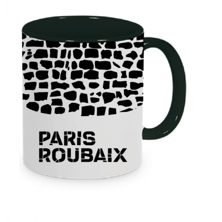 Mug Paris Roubaix Plein Noir