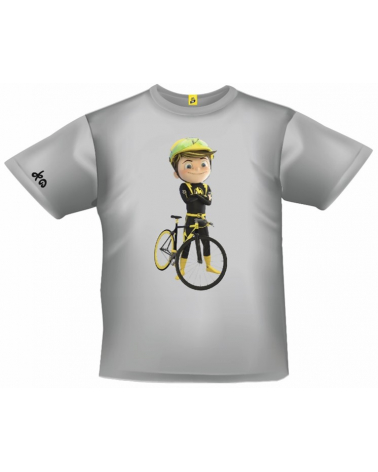 T-shirt Tour de France Maxoo Gris Enfant