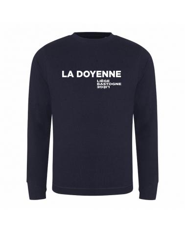 Sweat Liège Bastogne Liège Coup de grisou La Doyenne Bleu