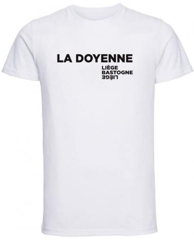 T-shirt Liège Bastogne Liège La Doyenne des Classiques Homme Blanc