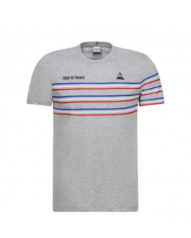 T-shirt Tour de France Le Coq Sportif TDF Homme Gris Clair