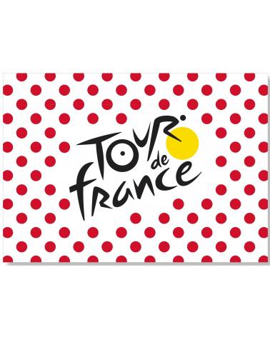 Drapeau Supporter Tour de France Pois