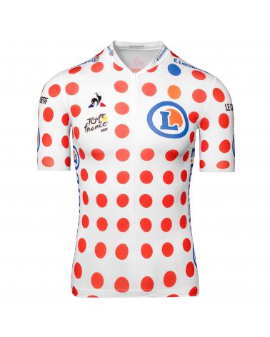 """Maillot Cyclisme Le Coq Sportif Tour de France Maillot à pois """"Grimpeur"""""""
